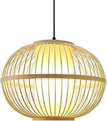 Pendellampe Lampion Japan-Kugel türkis 40cm Dimmbare LED Hängelampe aus Papier