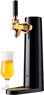 GREEN HOUSE Portable Beer Dispenser GH-UBEERO-BK(Black) - Mini Kegerator for Home, Ultra Fine Foam Enhance & Keep Beer Tas...