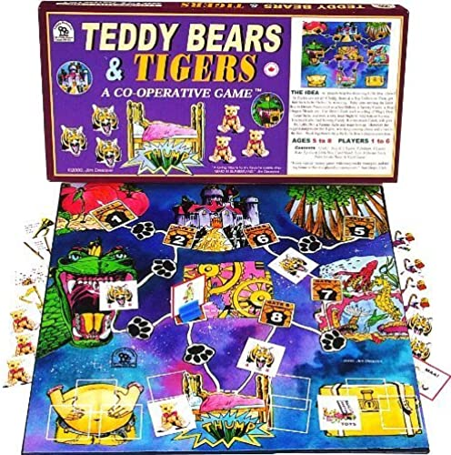 Family Pastimes Teddy Bears and Tigers - A Co-operative Game by Family Pastimes