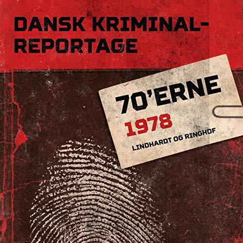 Dansk Kriminalreportage 1978 Titelbild