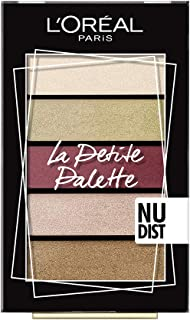 L'Oreal Paris Mini Eyeshadow Palette, Number 02, Nudist