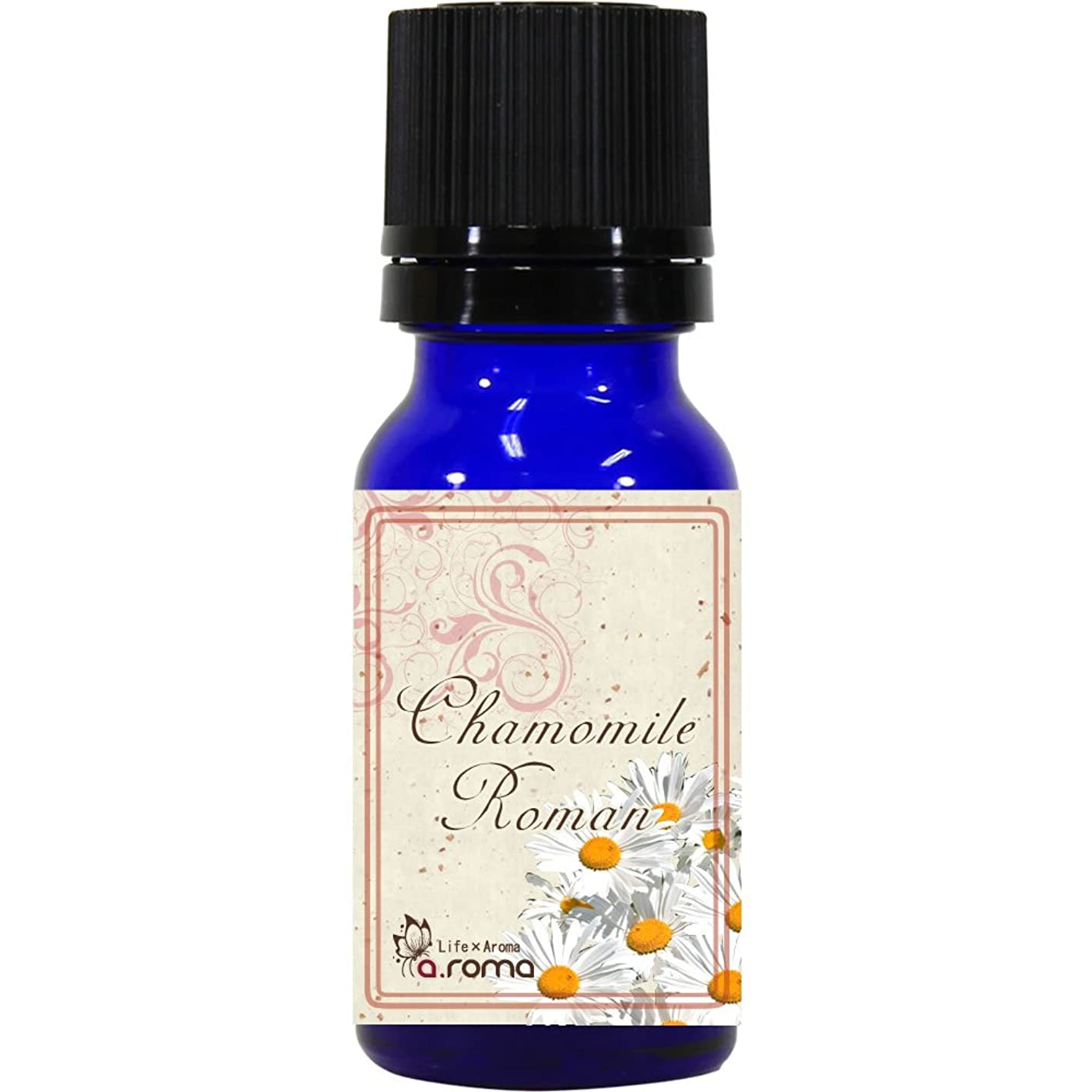 ビタミンバスルームアラートカモミールローマン 10ml 100% エッセンシャルオイル アロマオイル