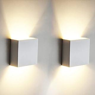 2 PCS 6W LED de pared Arriba abajo Lámpara de pared interior Moderno Aplique de pared Accesorios de iluminación para la sa...