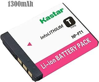 Kastar Battery for Sony NP-FT1 & Sony DSC-L1 DSC-M1 DSC-M2 DSC-T1DSC-T3 DSC-T3/B DSC-T3S DSC-T5 DSC-T5/B DSC-T5/NDSC-T5/R DSC-T9 DSC-T10 DSC-T10/B DSC-T10/P DSC-T10/W DSC-T11 DSC-T33 Cameras