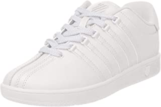 K-Swiss Kid's Classic VN Sneaker, White, 7 M US Toddler
