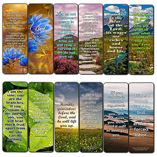Versículos de la Biblia sobre la recompensa Marcadores (30-Pack)