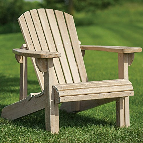 Rockler Adirondack Chair Plans with Templates – Easy-to-Build Classic Wooden Adirondack Chair - Wood Adirondack Chair Includes Step-By-Step Instructions for Entire Construction Process – Made in USA