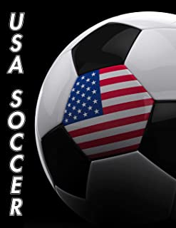 USA Soccer: Weekly Calendar July 2019 - December 2021   30 Months   131 pages 8.5 x 11 in.   Planner   Diary   Organizer   Agenda   Appointment   To-Do Soft Cover