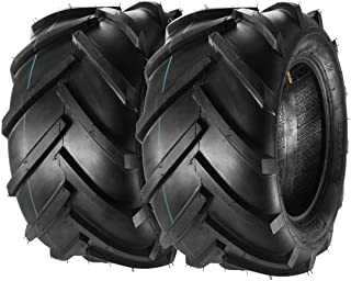 MaxAuto 23x10.5-12 23x10.5x12 Lawn Garden Tractor Tires 23x1050-12 Lug Ag Tire 6PR, Set of 2