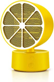 DGEG Calefactor, Mini Termoventiladores, Calentador rápido Electri Air Potente soplador Caliente Estufa portátil Sala de radiador (Color : Amarillo)
