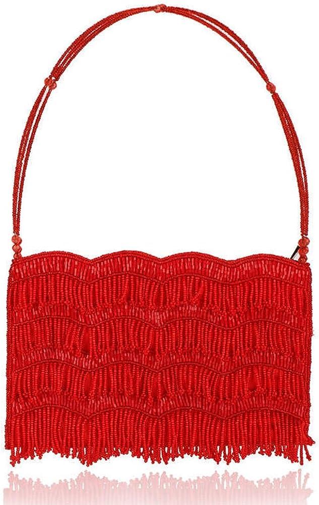 Yonger Pearl Bow-kont Wedding Evening Handbags Clutch Bags Purse