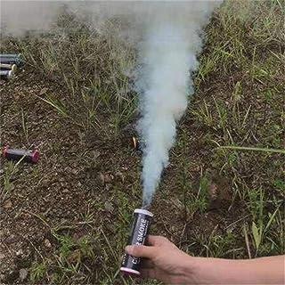 Colores Pastel de humo Fotografía Colorido Efecto de humo Show Tipo de anillo de tiro Tubo