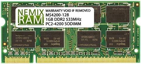 1GB DDR2 533MHz PC2-4200 200-pin SODIMM Laptop Memory RAM