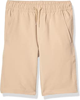 khaki school shorts