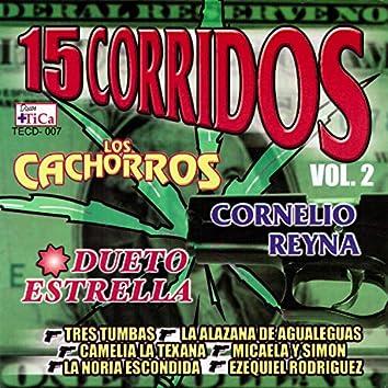 15 Corridos Vol. 2