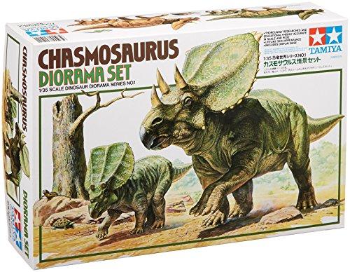 Tamiya 60101 - 1:35 Chasmosaurus, Diorama Set