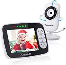 Video Baby Monitor with Camera and Audio, Anmade 3.5