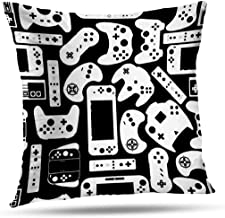 Kutita Decorativepillows Covers 26 x 26 inch Throw Pillow Covers,Games Controller Round Pillow Round Games Game Controller...
