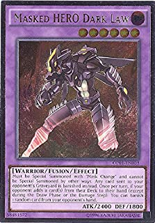 YU-GI-OH! - Masked Hero Dark Law (OP01-EN003) - OTS Tournament Pack 1 - Unlimited Edition - Ultimate Rare