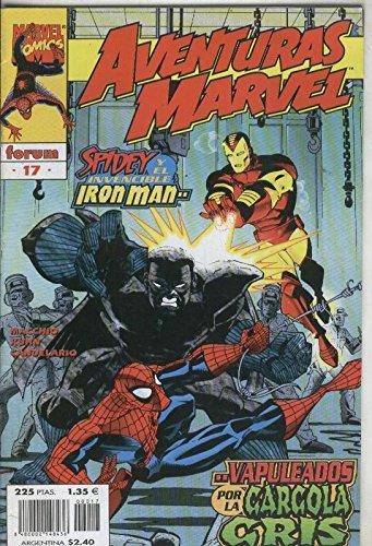 Aventuras Marvel numero 17: Spiderman e Iron Man: vapuleados