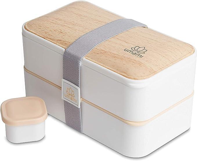7974 opinioni per UMAMI Premium Bento Lunch Box per Adulti/Bambini con Vaschetta Condimento & 4