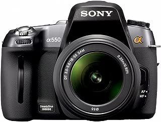 ソニー SONY デジタル一眼レフ α550 ズームレンズキット DT 18-55mm F3.5-5.6 SAM付属 DSLRA550L