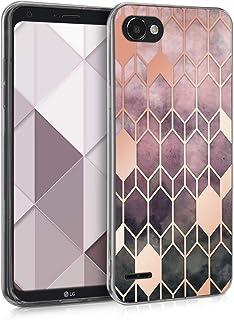 kwmobile Funda para LG Q6 / Q6+ - Carcasa de TPU para móvil