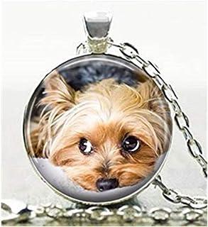 manojo de llaves Perro Yorkshire Terrier colgante para cadena pulsera collar