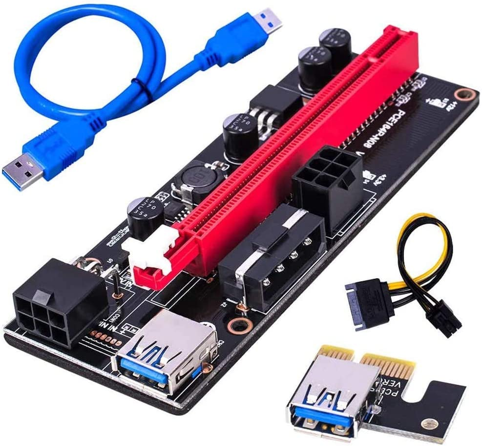 Columbus Mall Tigology PCIE Max 42% OFF Riser VER 009S 16X 1X to for Graphics Extension GP