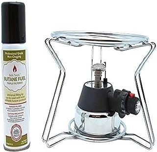Bella Tavola Fondue Chafing Burner,Cooking Platform,Butane, Silver