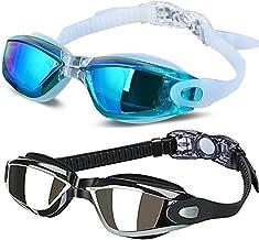 ALLPAIPAI Swim Goggles – Swimming Goggles,Pack of 2 Professional Anti Fog No..