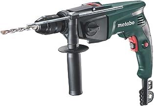 Metabo 6.00841.85 600841850-Taladro percutor SBE 760 (portabrocas automático) 760W con maletín, 0 W, Negro, Verde