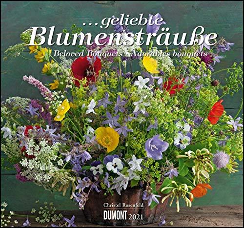 ... geliebte Blumensträuße 2021 – DUMONT Wandkalender – mit allen wichtigen Feiertagen – Format 38,0 x 35,5 cm