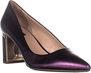 DKNY Womens Elie Leather Closed Toe Classic Pumps US