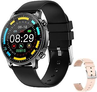 Smart Watch, V23 Dotyk pełnego ekranu dla mężczyzn i kobiet, IP67 wodoodporna, tętna, monitor krwi, odpowiedni dla IOS And...