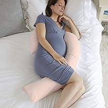 Novo 2.5kg PP comfort Pregnancy & Maternity Pillow, Peach - 145x90-75x25cm