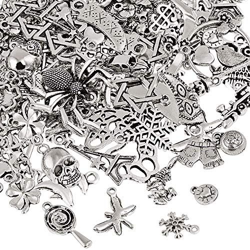 25x Vintage alliage d/'argent lady Mains Pendentifs Finding Charms Crafts 25*10*2mm