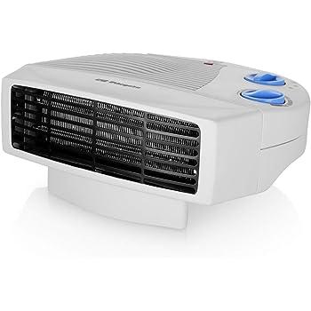Orbegozo FH 5008 - Calefactor eléctrico con dos niveles de calor y modo ventilador de aire frío, 2000 W, Blanco