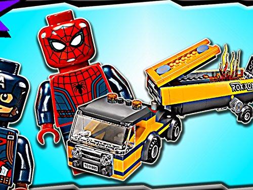 Clip: Spider-Man Tanker Truck Takedown