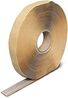 Butyl Seal Tape Leak Proof Putty Tape Liner for Crawl Space, Windows, RV Repair, Boat Sealing, Glass and EDPM Rubber Roof Patching (3/4