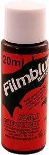 Eulenspiegel 405079 - krew filmowy / żel, ciemny, 20 ml, krew teatralny, Halloween, karnawał, impreza tematyczna