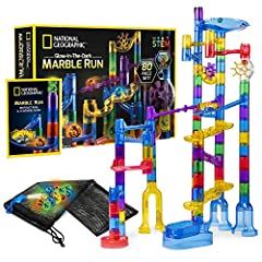 STURDY TIGHT-FIT PIECES – This construction kit is designed to fit together snuggly so your marble maze won't fall apart while you play. With more than 20 exciting action pieces and 45 clear smooth-run track pieces, our kit has countless imaginative ...