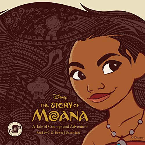 The Story of Moana audiobook cover art