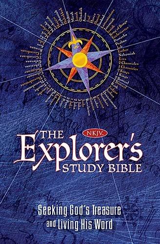 The NKJV, Explorer's Study Bible, Hardcover: Seeking God's Treasure and Living His Word