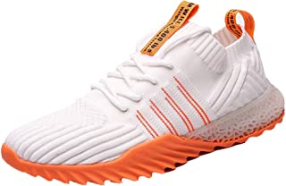 Lailailaily Men's Mesh Summer Sneakers Casual Lightweight Breathable Fashion Woven Running Shoes