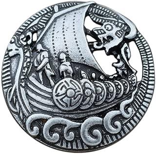 Celtic Viking Ship Brooch