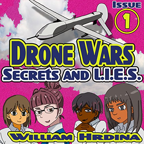 Secrets and L.I.E.S., The Drone Wars audiobook cover art