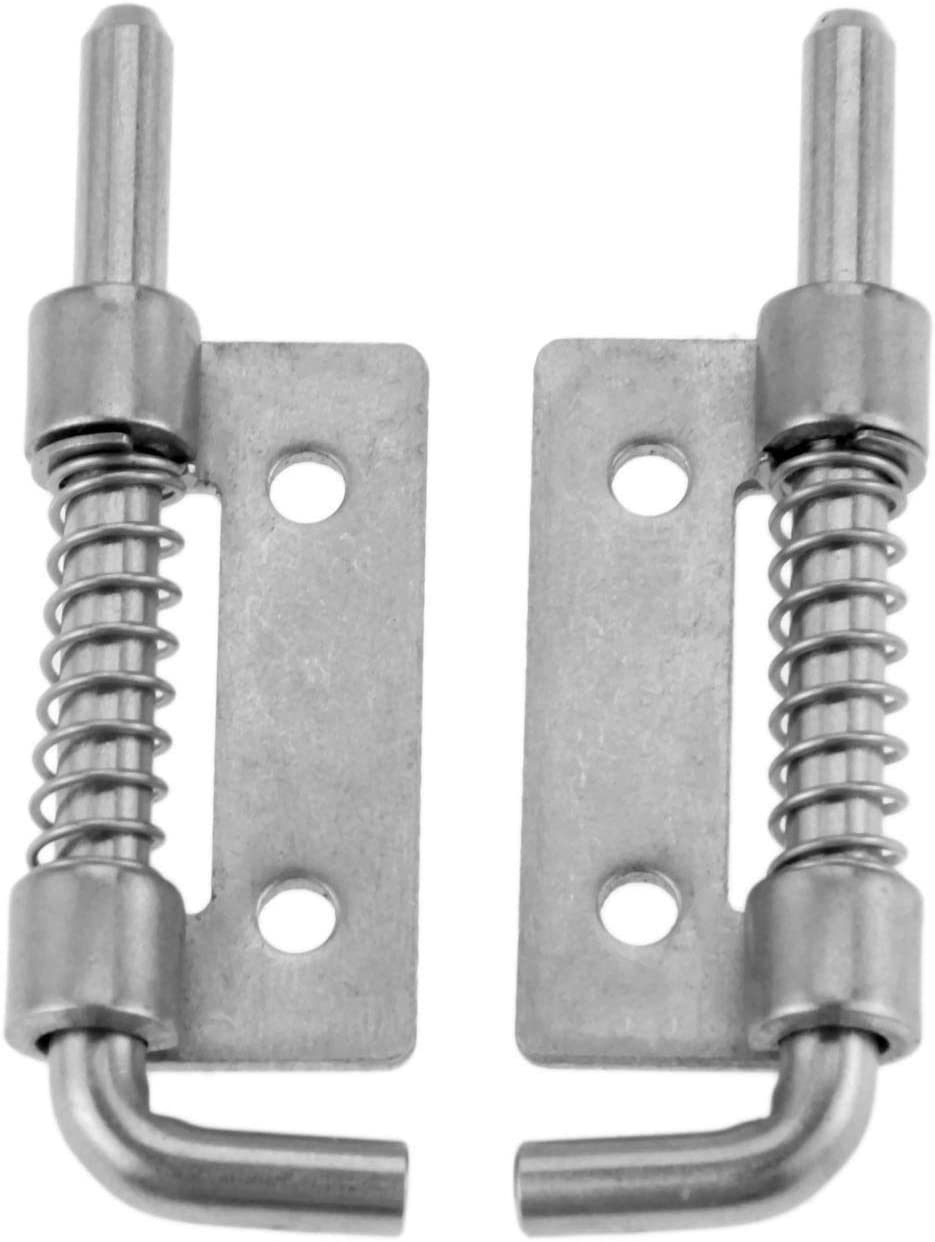 Stainless Steel Spring Barrel Latch Industrial Hinge Super special Safety and trust price Cabinet Wel