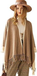 Grneric Maglietta da maglione da maglione da maglione da maglione da donna a scialle da disegno
