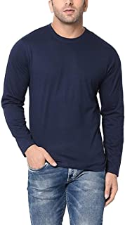 Sponsored Ad - Decrum Plain Long Sleeve Shirt Men - Soft Cotton Full Sleeves Jersey